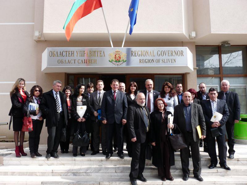 Проведено XIII заседание на Регионалния съвет за развитие (РСР)  на Югоизточен район(ЮИР)