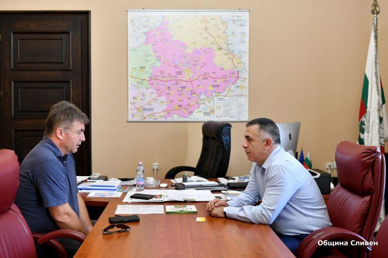 Община Сливен и КРИБ-Ямбол с общи идеи за развитие на бизнеса в региона
