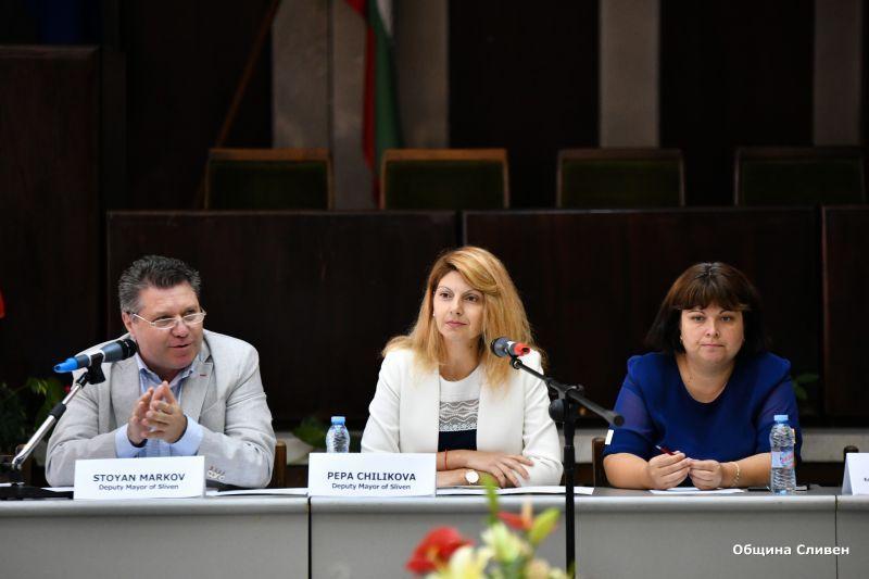 Възможностите за културно сътрудничество обсъдиха Сливен, Бидгошч и Ниш