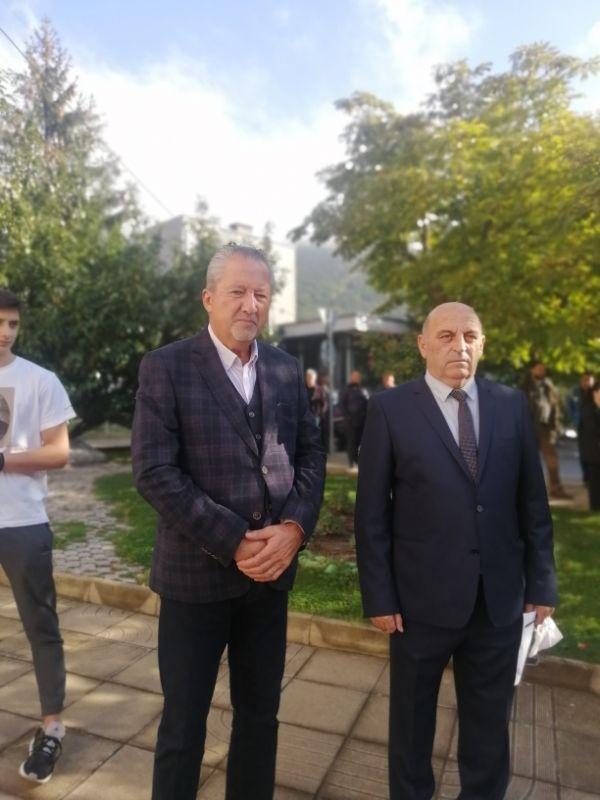 Областният управител Ч. Божурски бе гост на празника по покана на кмета на община Твърдица А. Атанасов