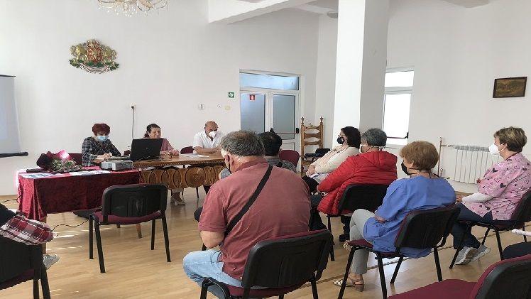 Срещата в община Твърдица