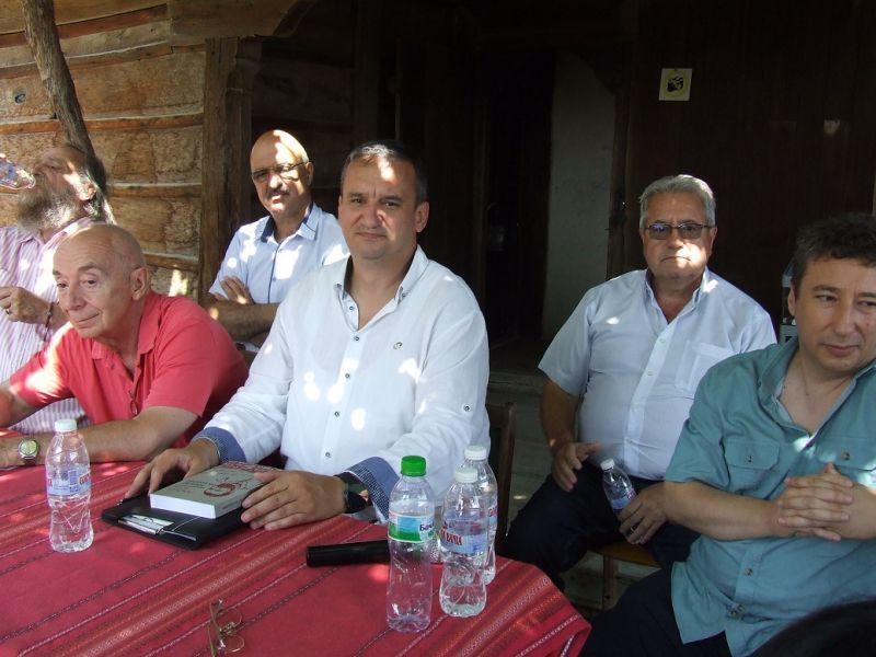 Издателят Иван Гранитски бе сред гостите на събитието