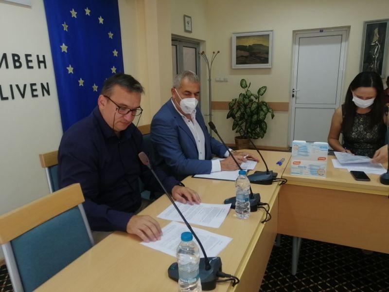 Областният управител М.Афузов откри консултациите, присъства гл.секретар К. Аврамов