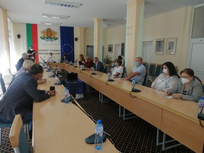 заседанието на Областния кризисен щаб