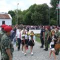 В знак на почит цветя бяха поднесени и от много ученици