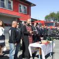 Отец Иван Стоянов отслужи водосвет
