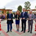 Откриването на обектите в Сливен по проекта на общината за подобряване на градската среда