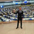 Заседателната зала на европарламента