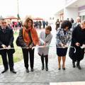 Прерязването на лентата. Снимка: пресцентър на община Сливен