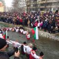 Мъжкото хоро в река Новоселска