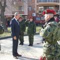 Областният управител Ч.Божурски поднесе венец пред паметника на Левски, в знак на признателност
