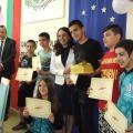 Началникът на РУО Милена Чолакова връчи колективен приз на учениците от Спортното училище