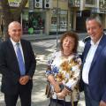 Социалният министър бе гост на Областния управител заедно с изп.директор на ИА ГИТ инж.Румяна Михайлова.