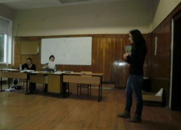 Участие в национален кръг на състезанието  по речеви и комуникативни умения