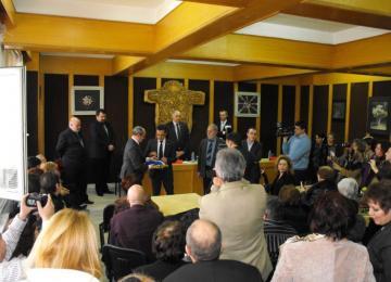 церемония по връчването на орден Кавалер на академическите палми