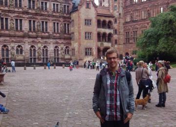 Богдан Кючуков - Първият стипендиант от нашата гимназия на DAAD /Немската служба за академичен обмен/