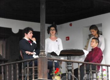 Сцена от наградената в конкурса пиеса