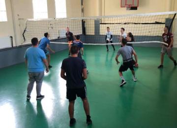 Волейболен мач