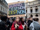 Протест срещу сексуалното и сексистко насилие в Париж
