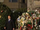 Президентът Румен Радев пред паметника на Левски