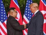 Тръмп и Ким Чен-ун