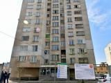 Стефан Радев откри строителна площадка за саниране на блок № 43 в квартала / Снимка: Община Сливен