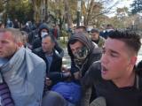 Протест в Тирана