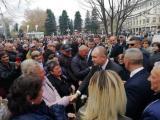 Президентът Румен Радев в Кюстендил/Снимка: Иво Кирилов, Дарик Кюстендил
