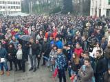 Протест в центъра на Габрово