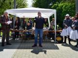 Кметът на Сливен Стефан Радев поздрави всички участници в ретро парада