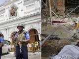 """Военни обезопасяват района около храма """"Св. Антони"""" в столицата Коломбо, в който избухна експлозия"""