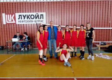 Отборът по баскетбол на ПГПЗЕ