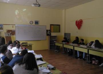 Изучаващите руски език в ПГПЗЕ