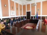 Среща между кмета Стефан Радев и председателя на федерацията доц. Румен Стоилов