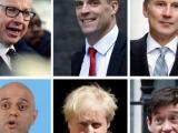 Шестимата претенденти, останали в битката за лидер на британската Консервативна партия