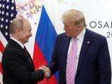 Президентът на РФ Владимир Путин и президентът на САЩ Доналд Тръмп