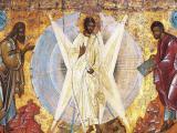 """Иконата """"Преображение Господне"""" на иконописеца Теофан Грек. Снимката е от електронната енциклопедия """"Уикипедия"""""""