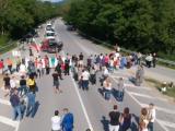 Десетки жители на община Долни Чифлик блокираха пътя между Варна и Бурга