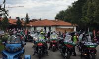 Мототуристи в България