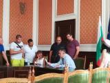Приемен ден на кмета Стефан Радев