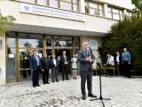 Стефан Радев приветства студентите