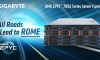 GIGABYTE обяви семейство сървъри на базата на AMD EPYC™ 7002