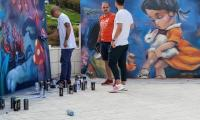 Десет години по-късно Nasimo и едни от най-добрите български графити артисти отново на една сцена