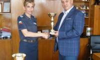 """Победа Карарадева е абсолютен победител в стрелбата на конкурса """"Пътен полицай на годината"""""""
