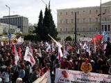 Протестите в Гърция  срещу промени в трудовото законодателство орязващи правата на работниците