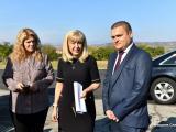 Министърът на регионалното развитие и благоустройството Петя Аврамова днес лично дойде на място, за да се запознае с терена