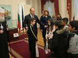 """Президентът Румен Радев и вицепрезидентът Илияна Йотова посрещнаха първите гости на """"Дондуков"""" 2."""