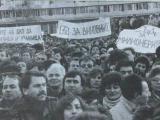 митинг, ноември, 1989