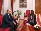 Президентът Румен Радев и Херо Мустафа