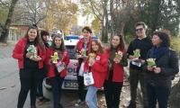 ОДМВР, БЧК и РЗИ в Сливен  отбелязват Световния ден за възпоменание на жертвите от пътно-транспортни произшествия  - 17 ноември